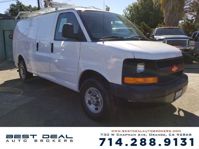 2011 Chevrolet Express Cargo 3500 CARGO VAN Front air conditioning - automatic climate control F