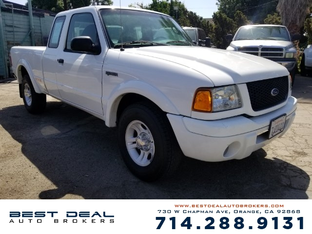 2003 Ford Ranger Edge SuperCab 2WD Front airbags - dual In-Dash CD - MP3 Playback single disc Rad