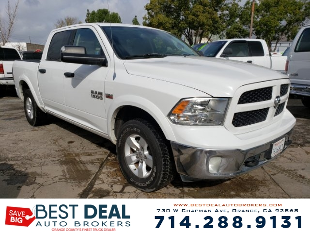 2013 Ram Ram 1500 Outdoorsman Front air conditioning Front air conditioning zones - single Airbag