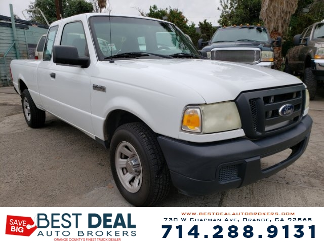 2007 Ford Ranger XL SuperCab 2WD Airbag deactivation - passenger switch Front airbags - dual An