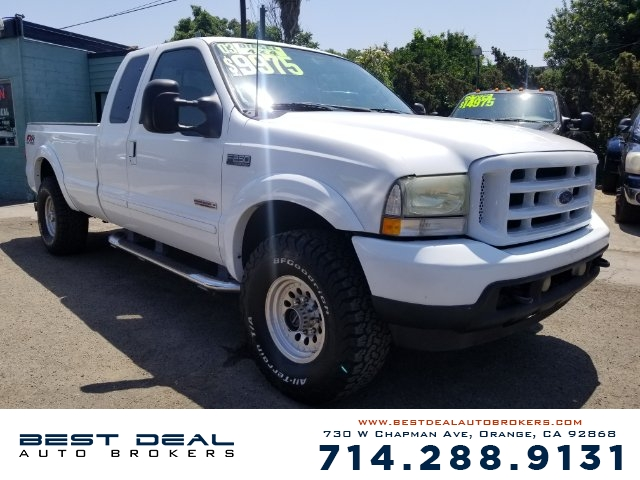 2003 Ford F-250 Super Duty Lariat 4WD EXTENDED Front air conditioning Front airbags - dual Casset