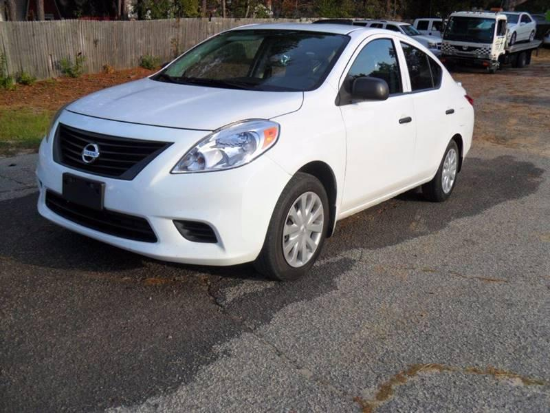 2014 NISSAN VERSA 16 S 4DR SEDAN 4A Perfect car to finance with the bank but we also do in house