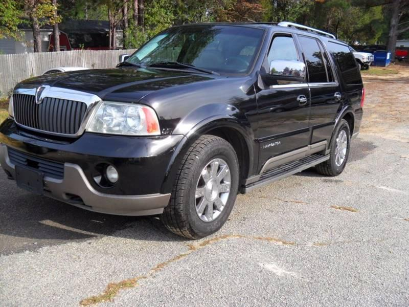 2003 LINCOLN NAVIGATOR LUXURY 4WD 4DR SUV sliding steps pioneer touch screen rear seats operate