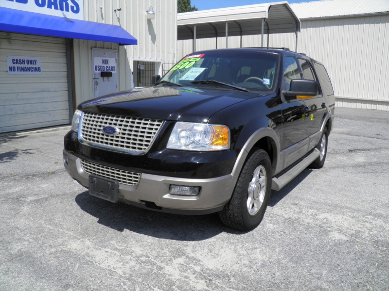 2003 FORD EXPEDITION EDDIE BAUER 46L 2WD Kelly Blue Book 4683 Our Price 4500 New timing chains