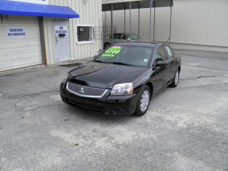 2011 MITSUBISHI GALANT FE NEW FRONT TIRES AND FRONT BRAKE PADS BLACK 168215 miles VIN 4A32B2FF