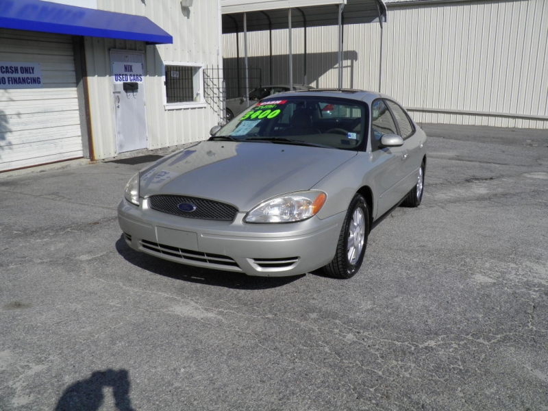2007 FORD TAURUS SEL Kelly Blue Book 4498 Our Price Only 3400 Save Over 1000 off Retail Fern Gr