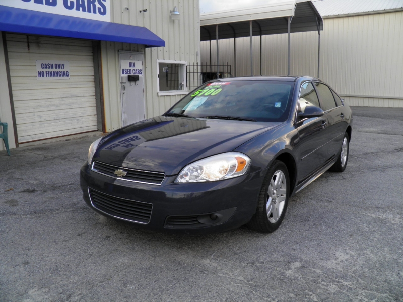 2009 CHEVROLET IMPALA 2LT Kelly Blue Book 7008 Our Price Only 4800 Save over 2200 off retail Lo