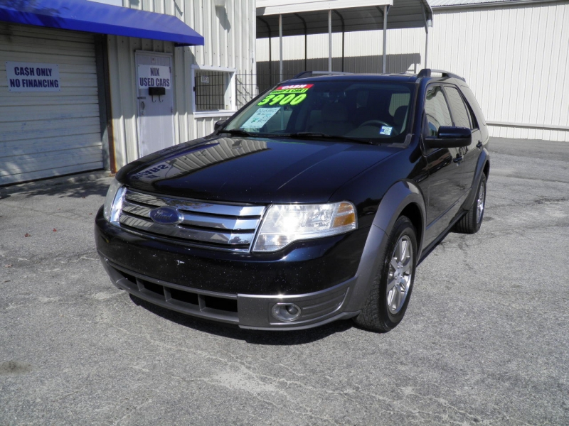 2008 FORD TAURUS X SEL FWD Kelly Blue Book 4820 Our Price Only 3900 Save Over 920 off Retail DA