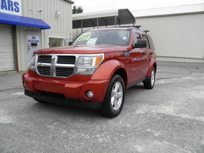 2007 DODGE NITRO SLT 2WD Kelly Blue Book 6445 Our Price only 5200 Save Over 1200 Off Retail Ne