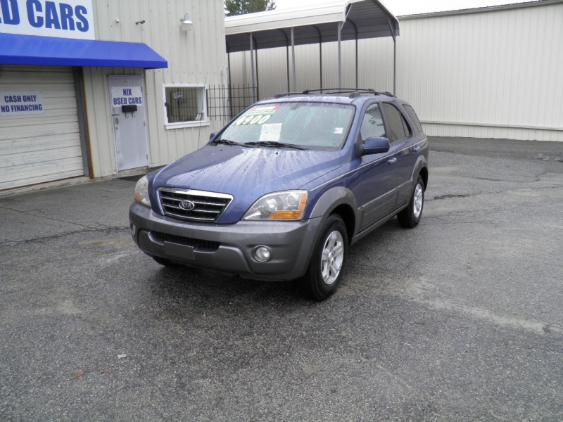 2007 KIA SORENTO EX 2WD Kelly Blue book 6242 Our Price only 4900 New Tires Save Over 1300 Off R