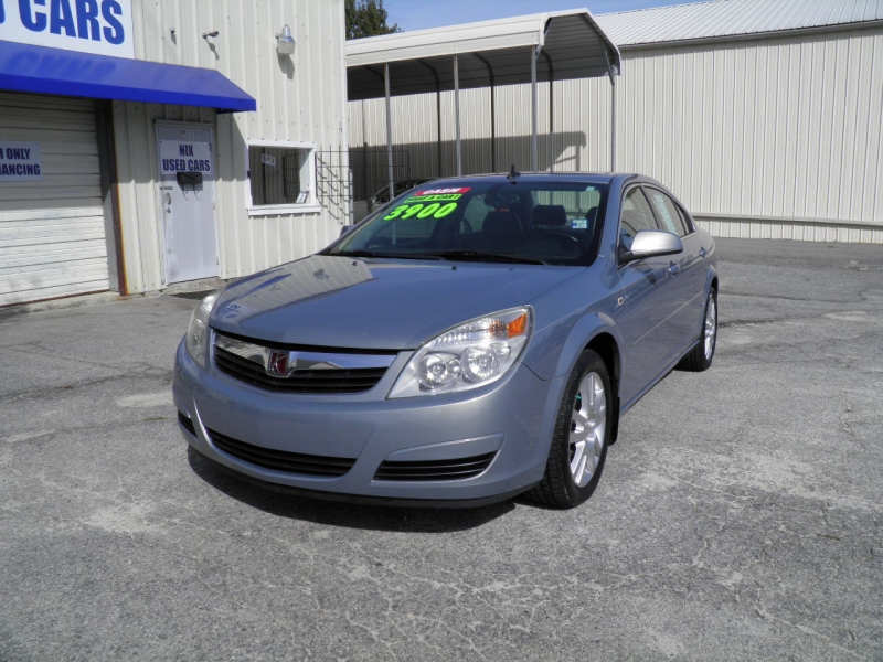 2007 SATURN AURA XE Kelly Blue Book Price 4 601 Our Price only 3 900 Local New car Trade New T