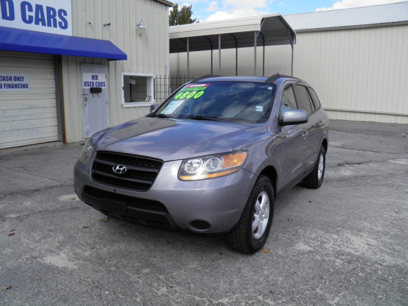 2008 HYUNDAI SANTA FE GLS Kelly Blue Book 5928 Our Price Only 4800 Save over 1100 Off Retail Ne