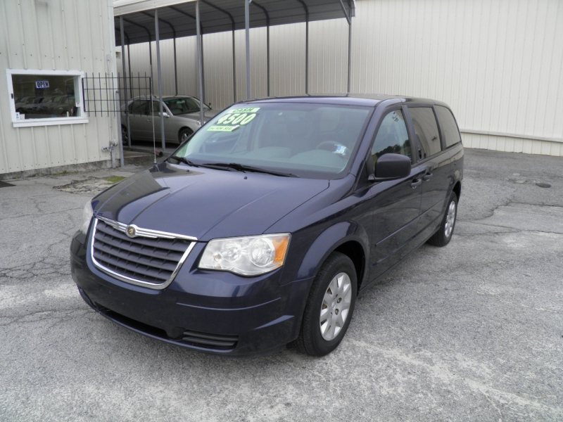 2008 CHRYSLER TOWN  COUNTRY LX MODERN BLUE PEARL 205416 miles VIN 2A8HR44H88R618130
