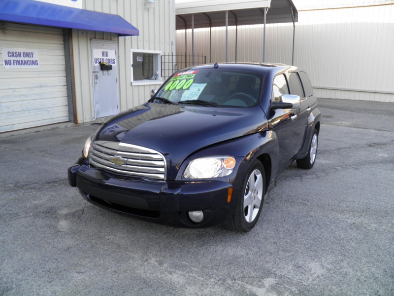 2007 CHEVROLET HHR LT2 Kelly Blue Book 5233 Our Price 3400 Save Over 1800 Off Retail Lot Manger