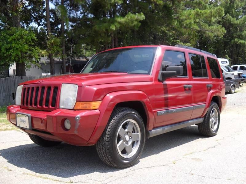 2006 JEEP COMMANDER BASE 4DR SUV CASH SPECIAL OF THE WEEK Red 220126 miles Stock 254 VIN