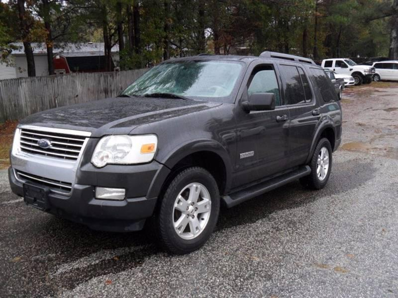 2007 FORD EXPLORER XLT 4DR SUV V6 Great family vehicle Let us know if you want to finance 855706