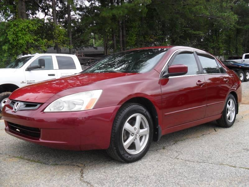 2005 HONDA ACCORD EX WLEATHER 4D Red 264033 miles Stock 249 VIN 1HGCM55885A067400