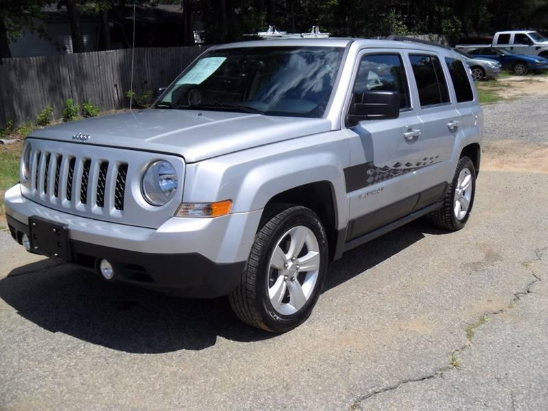 2013 JEEP PATRIOT LATITUDE 4DR SUV Gray 88148 miles Stock 334 VIN 1C4NJPFA4DD260430