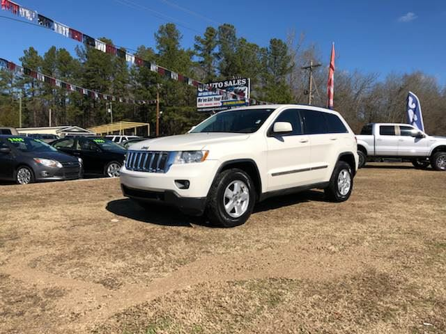 2011 Jeep Grand Cherokee  White Stock 8020 VIN 1J4RS4GG9BC524559