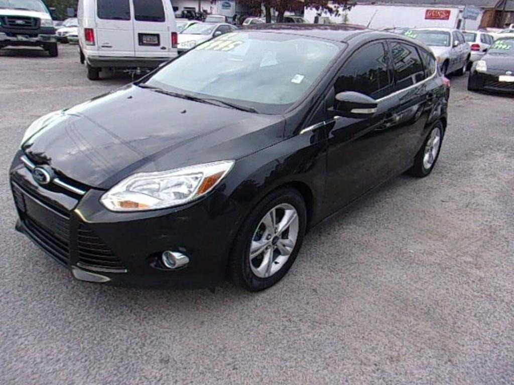 2012 Ford Focus  Black Stock 17231 VIN 1FAHP3M23CL341672