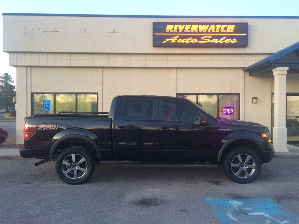 2014 Ford F150 FX4 THIS 2014 FORD F150 FX4 IS A ONE OWNER TRUCK WITH A CLEAN VEHICLE HISTORY  THE