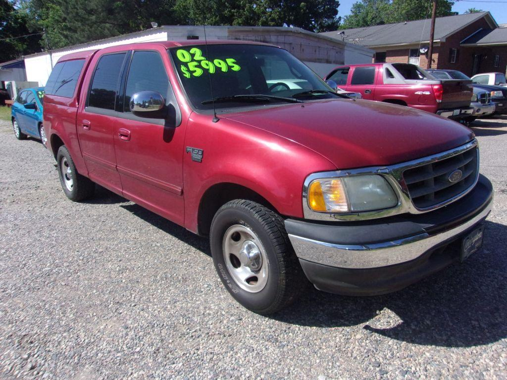 2002 Ford F150  RED Stock 18088 VIN 1FTRW07642KB92367