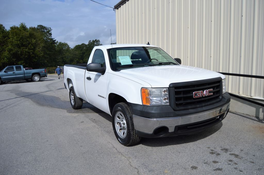 2007 GMC Sierra 1500 Clsc Work Truck Regular Cab  2007 GMC Sierra 1500 Work Truck Regular Cab  4