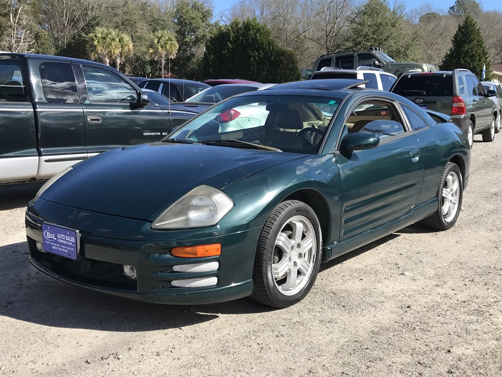 2000 Mitsubishi Eclipse GT 600 DOWN Green Stock 5270 VIN 4A3AC54L5YE163266