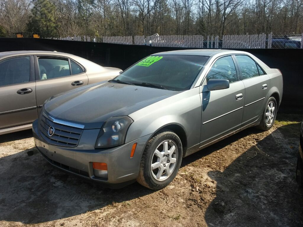 2005 Cadillac CTS Base RIDE TODAY WITH 1750 DOWN Grey Stock 1526 VIN 1G6DP567150176094