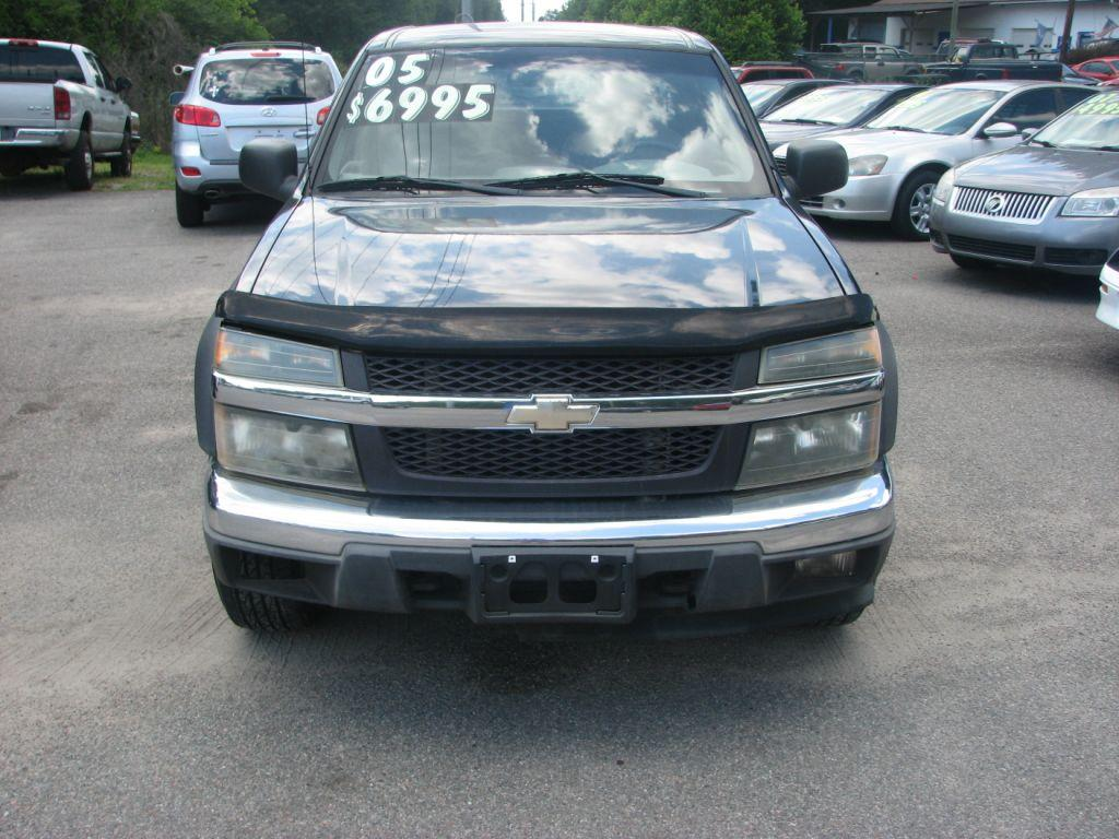 2005 Chevrolet Colorado  Black Stock 15044 VIN 1GCDT196858149822