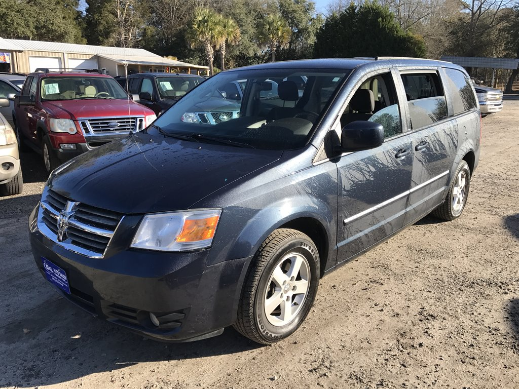 2008 Dodge Grand Caravan SXT Blue Stock 6406 VIN 2D8HN54P28R836307