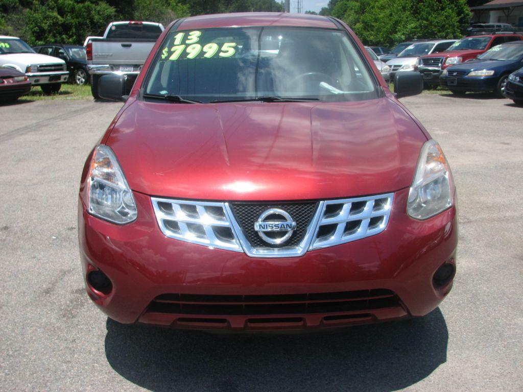 2013 Nissan Rogue  Burgandy Stock 17109 VIN JN8AS5MT6DW522980
