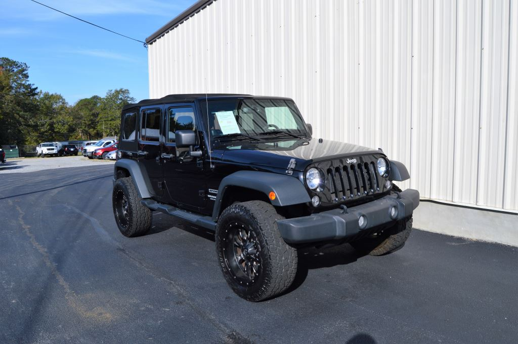 2014 Jeep Wrangler Unlimited Sport  2014 Jeep Wrangler Unlimited Sport 36L V6 Power WindowsLoc