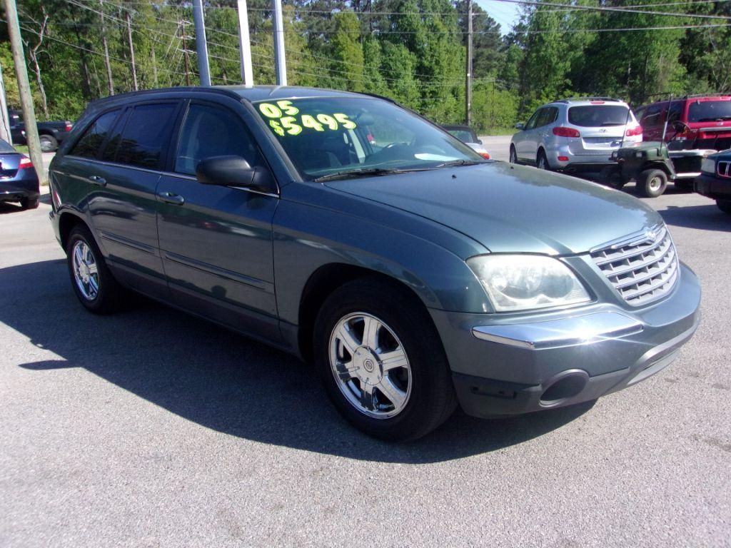 2005 Chrysler Pacifica  Blue Stock 18071 VIN 2C4GM68425R656940