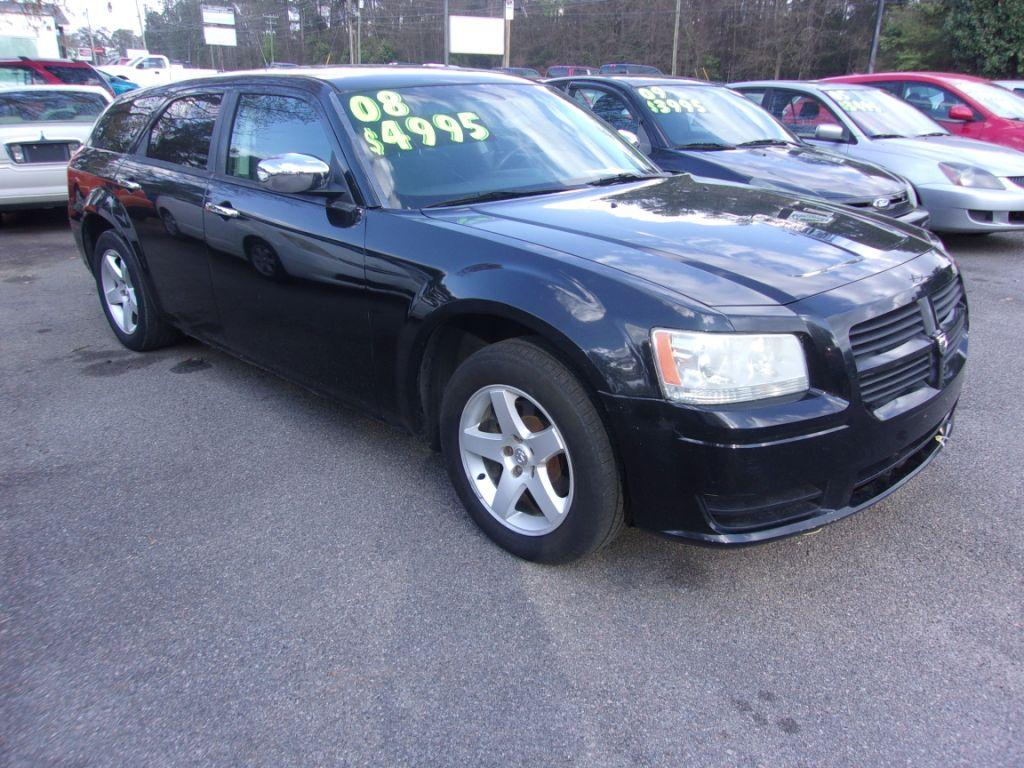 2008 Dodge Magnum  Black Stock 18042 VIN 2D4FV47T48H104388