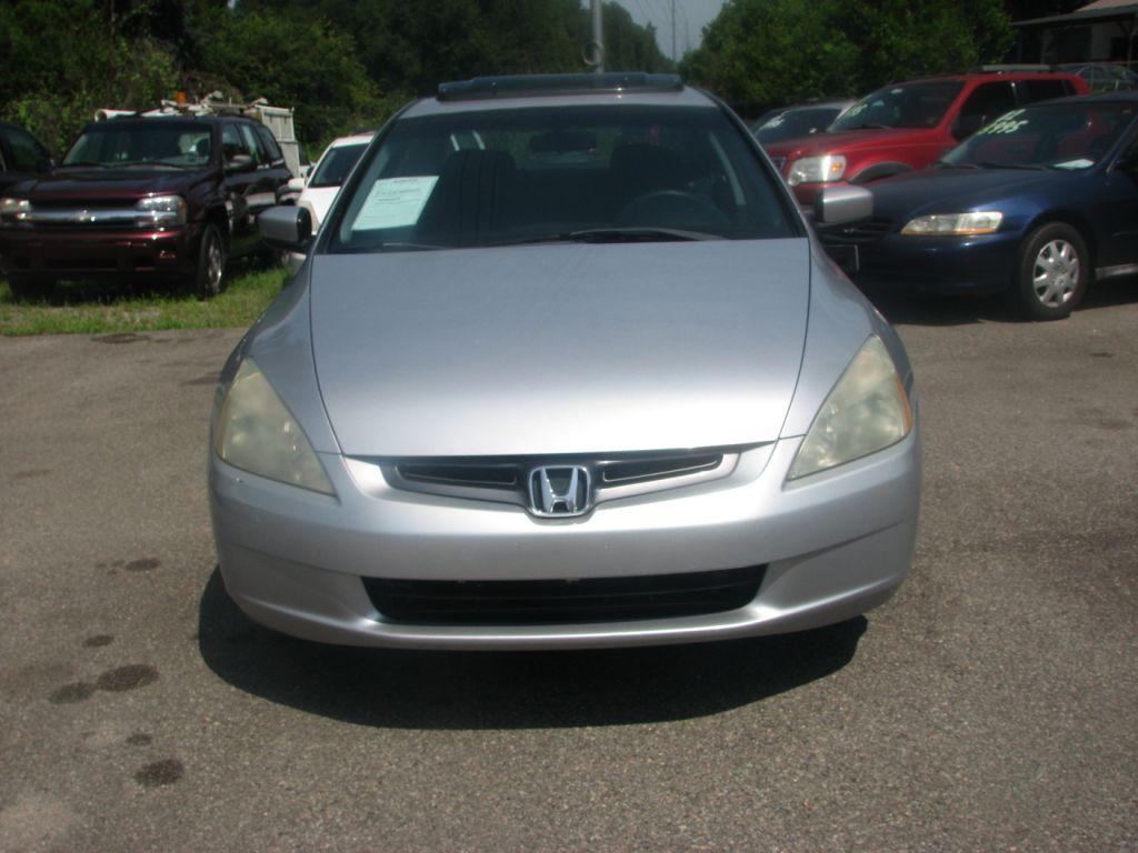 2005 Honda Accord  Silver Stock 17151 VIN 1HGCM56775A049718