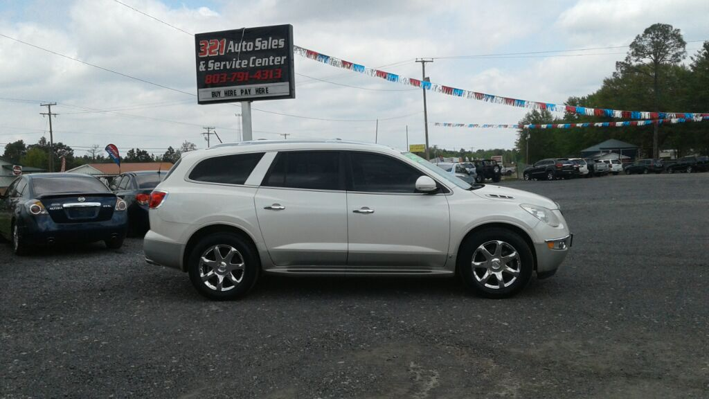 2009 Buick Enclave CXL Fully loaded leather sunroof pw ps pl 3rd row  White Stock 5624 VIN 5G