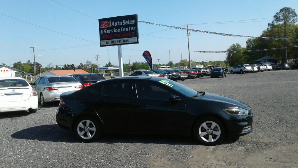 2015 Dodge Dart SXT Like new low miles gas saver pw ps pl very clean  Black Stock 387 VIN 1C3