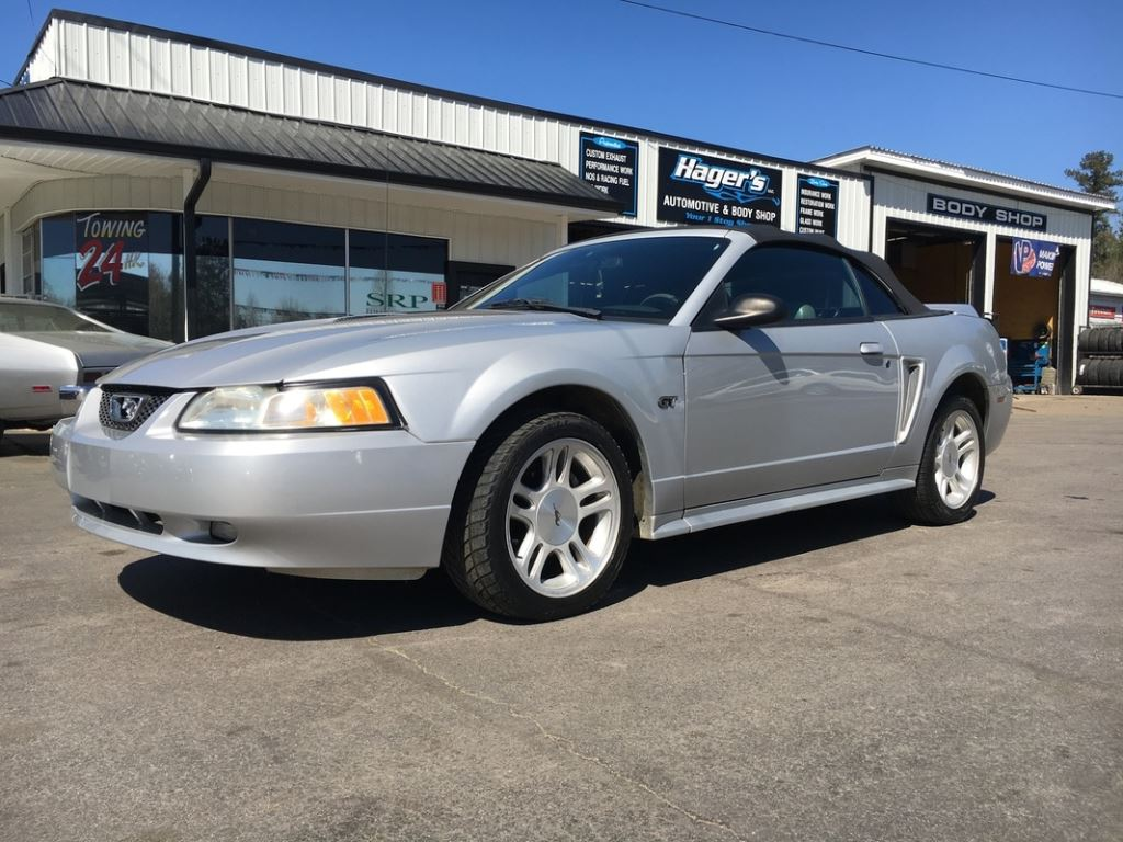 2000 Ford Mustang  Silver Stock 5306 VIN 1FAFP45X4YF247247