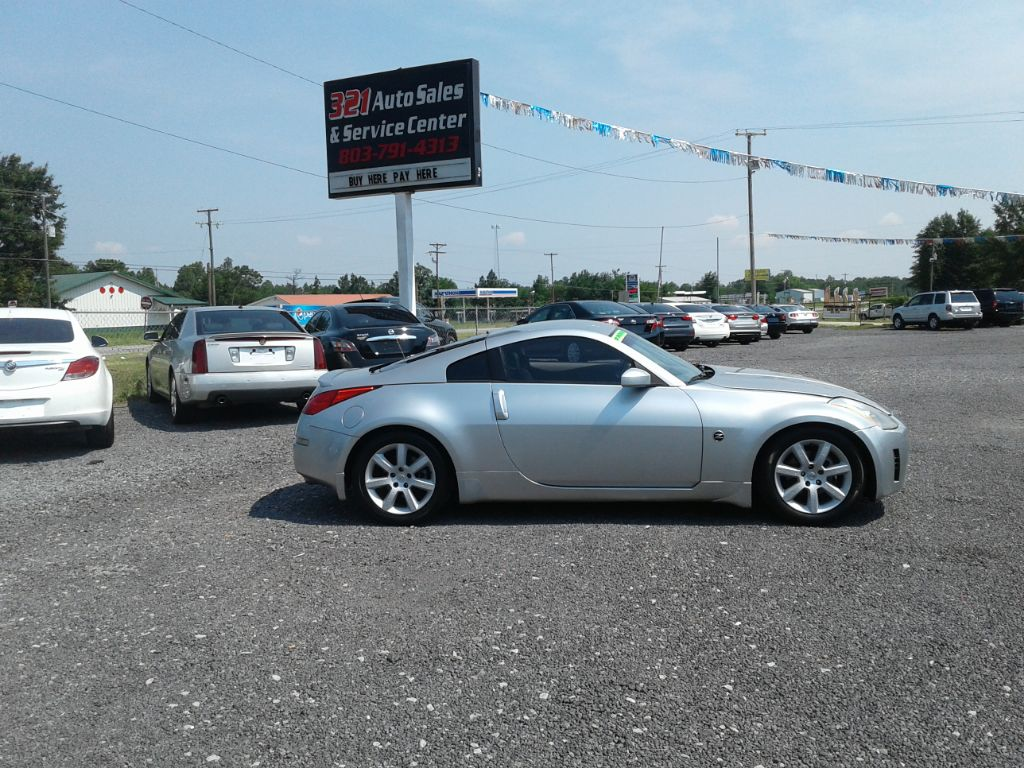 2004 Nissan 350z Base Leather pw ps pl very clean low miles  Silver Stock 5784 VIN JN1AZ34EX4