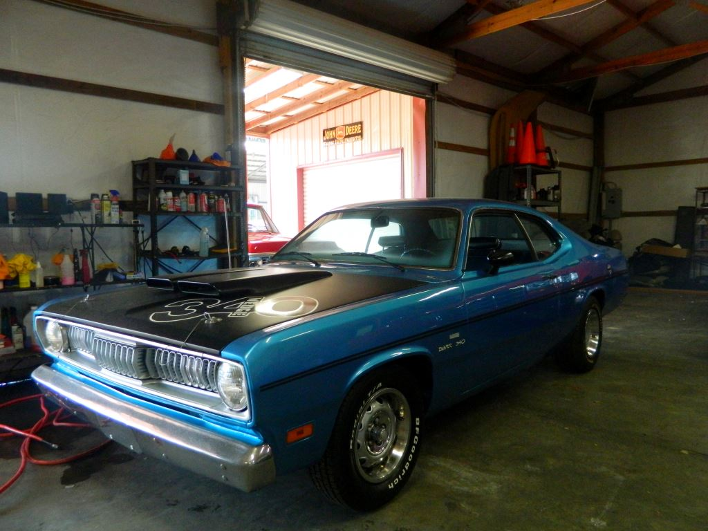 1970 Plymouth Duster  1970 Plymouth Duster 340 Edition Classic Car 4 Speed Positive Traction Re
