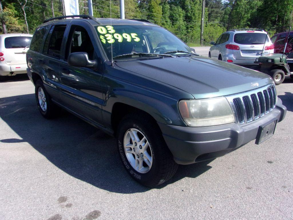 2003 Jeep Grand Cherokee  Grey Stock 18069 VIN 1J4GX48S53C581340