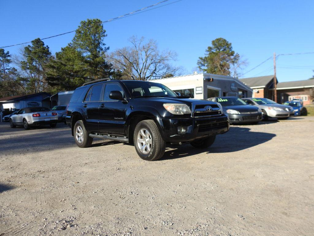 2006 Toyota 4runner  Black Stock 19024 VIN JTEBT14R868036751