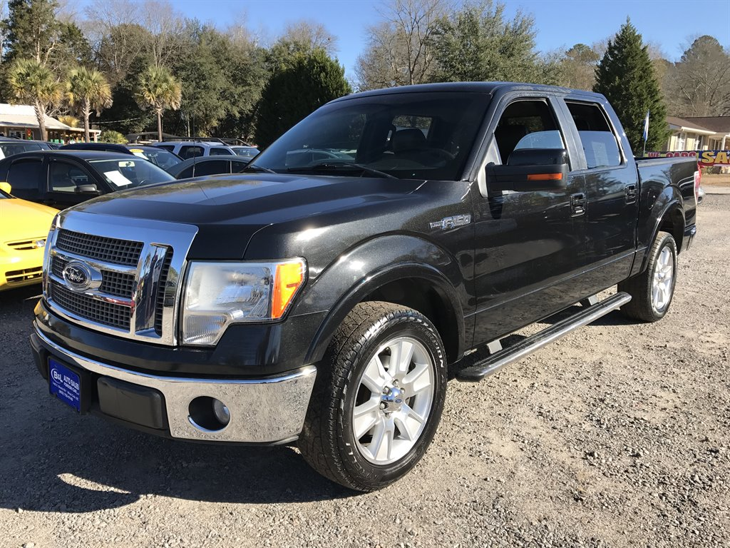 2010 Ford F150 Lariat LARIAT SUPER CREW BLACK ON BLACK AND ITS PRICED UNDER MARKET VALUE Bl
