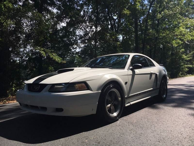 2001 Ford Mustang  White Stock 7921 VIN 1FAFP42X21F172994