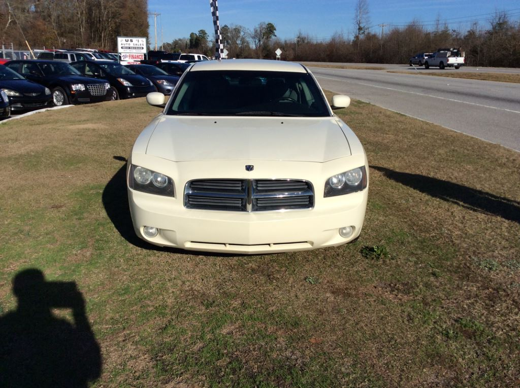 2006 Dodge Charger  White Stock 7303 VIN 2B3KA53H26H173433