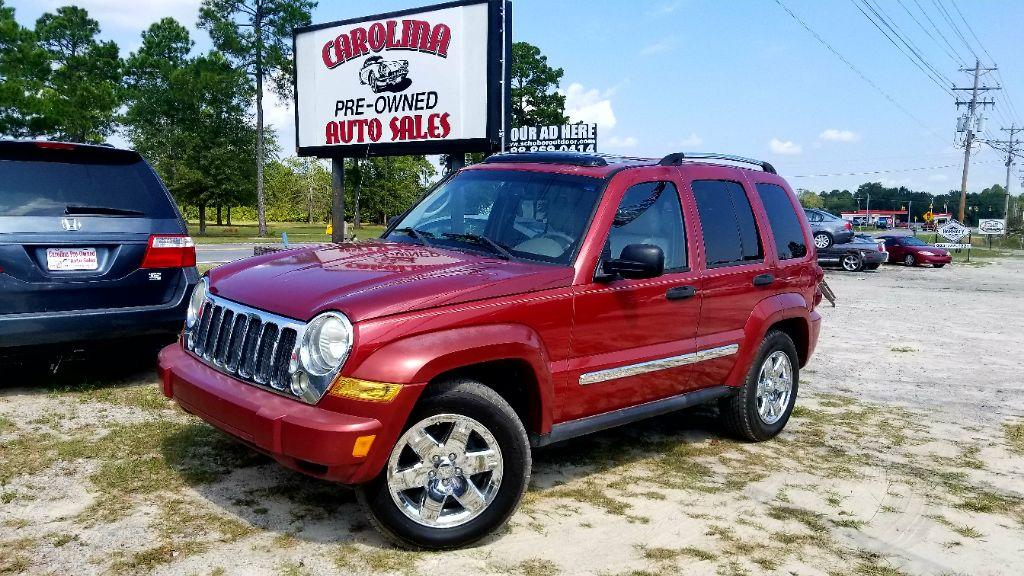 2006 Jeep Liberty Limited Burg Air ConditioningAssist HandlesCD Audio - CDMP3AMFM Audio -