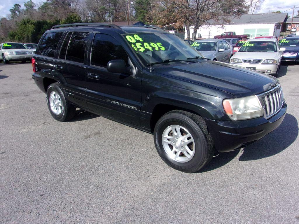 2004 Jeep Grand Cherokee  Black Stock 17242 VIN 1J4GX58SX4C197173