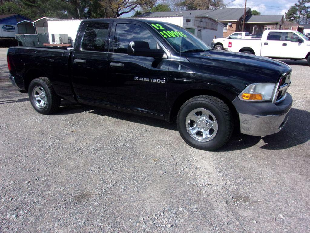 2012 RAM 1500  Black Stock 0909890 VIN 1C6RD6FP9CS235810