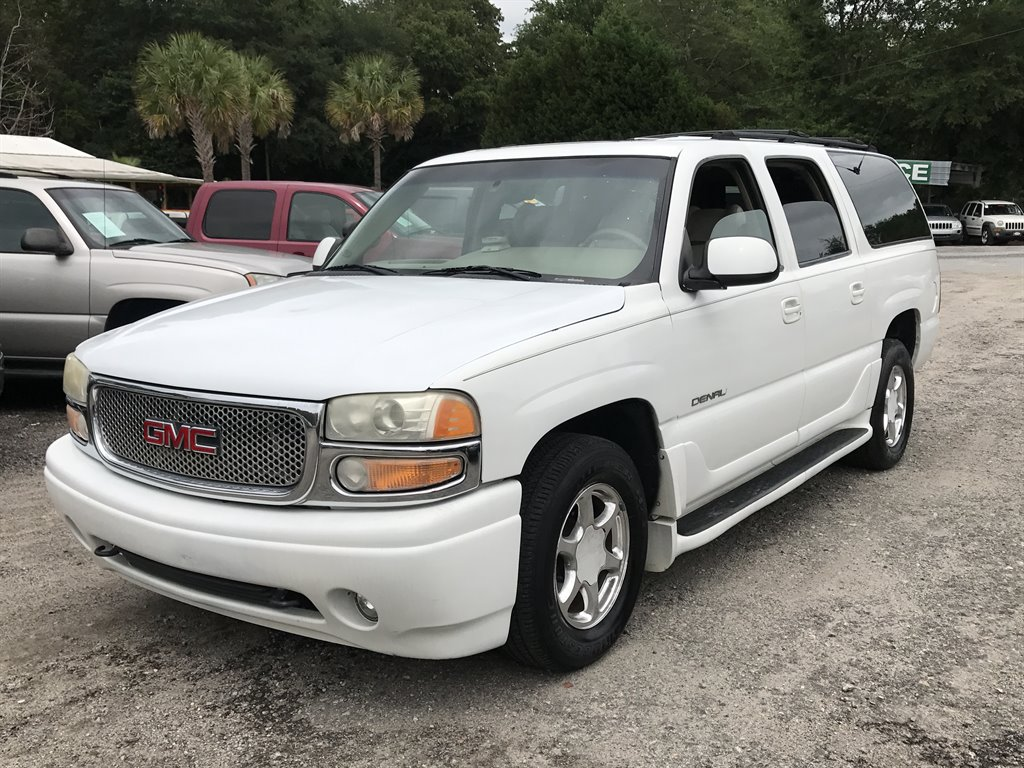 2001 GMC Yukon XL 1500 Denali 1700 DOWN White Stock 5081 VIN 1GKFK66U51J311571